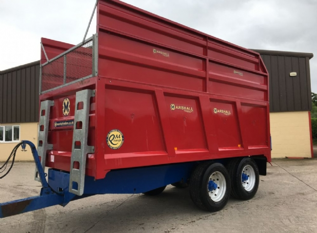 Marshall QM11 Grain and Silage trailer - SOLD